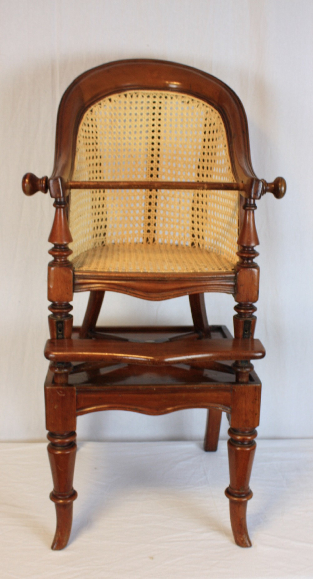 c19th child's high chair