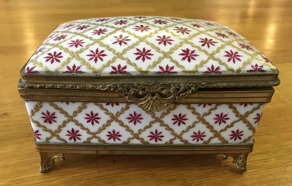 c19th limoges ormolu mounted box