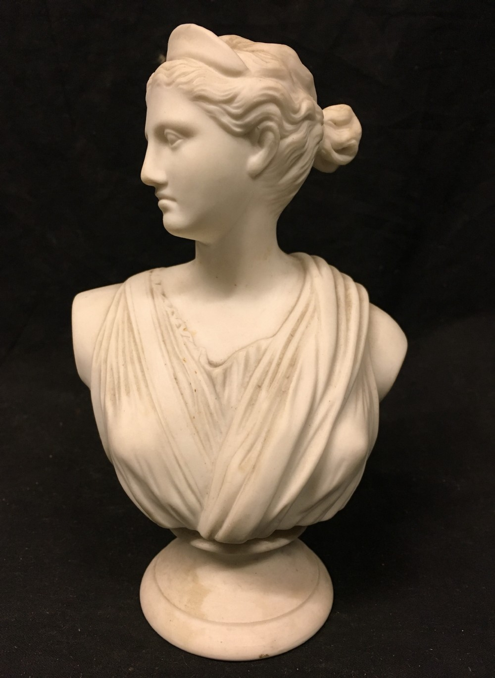 c19th bust of aphrodite