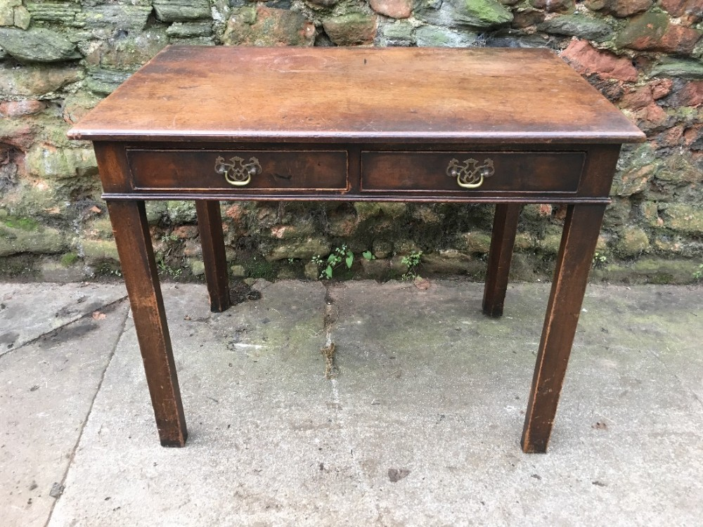 george 111mahogany side table