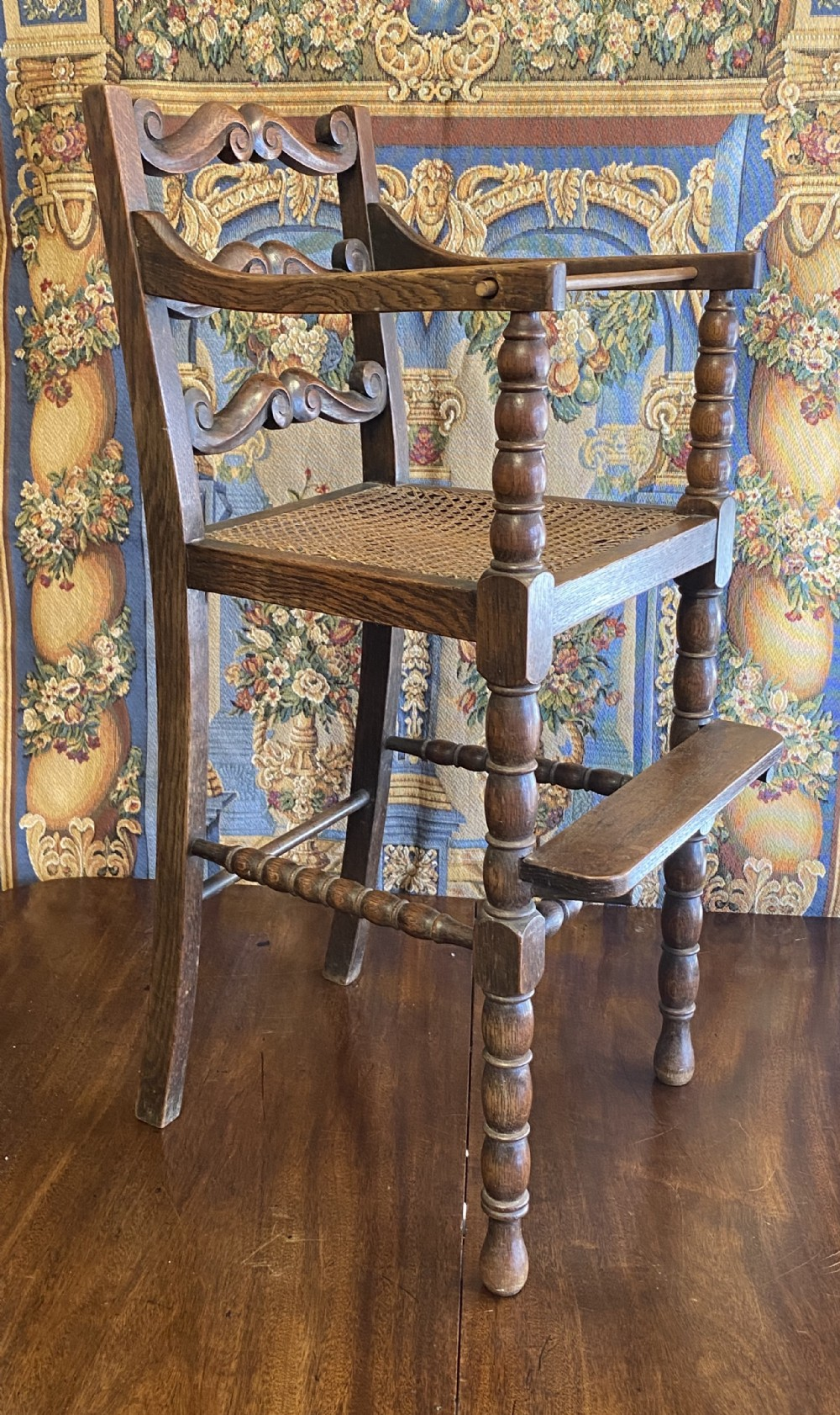 c19th childs high chair